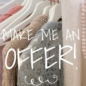 Reasonable offers always accepted!